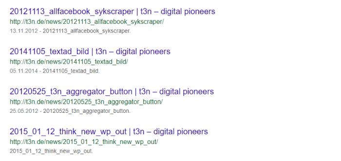 t3n Google Suche