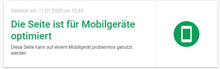 Mobile friendly als Ranking Faktor