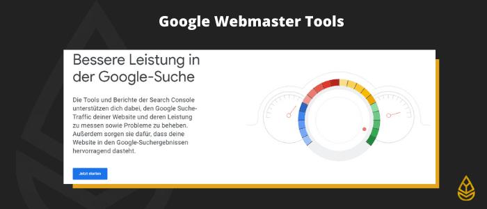 Google Webmaster Tools (SEO)