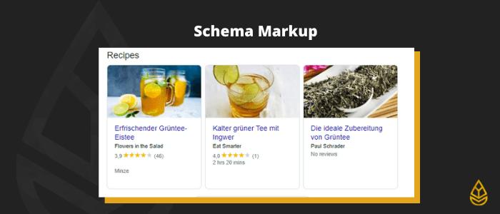 Schema Markup - für SEO