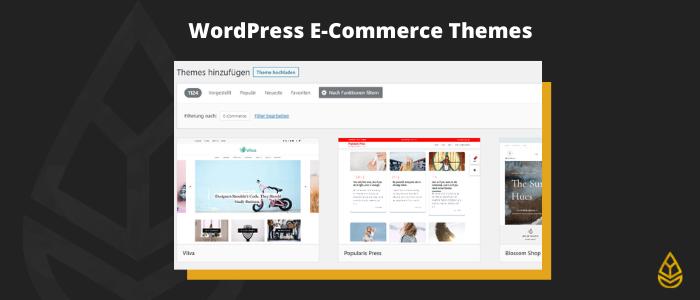 WordPress E-Commerce Themes