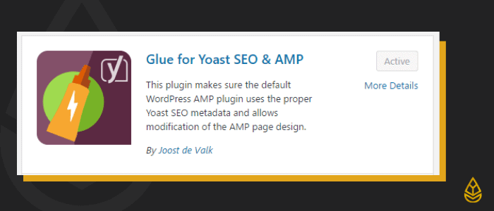 Glue for Yoast SEO & AMP WordPress Plugin