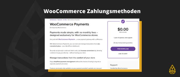 WordPress Shop Kosten Zahlungsmethoden